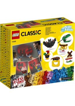 LEGO Classic Mattoncini e luci - 11009