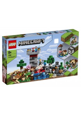 LEGO Minecraft Die Crafting-Box 3.0 - 21161