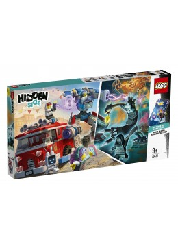 LEGO Hidden Side Le camion de pompiers Phantom 3000 - 70436
