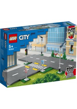 LEGO City Straßenkreuzung mit Ampeln - 60304