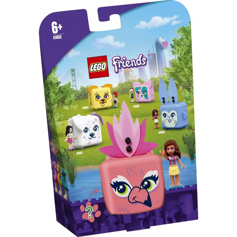 LEGO Friends Il cubo del Fenicottero di Olivia - 41662