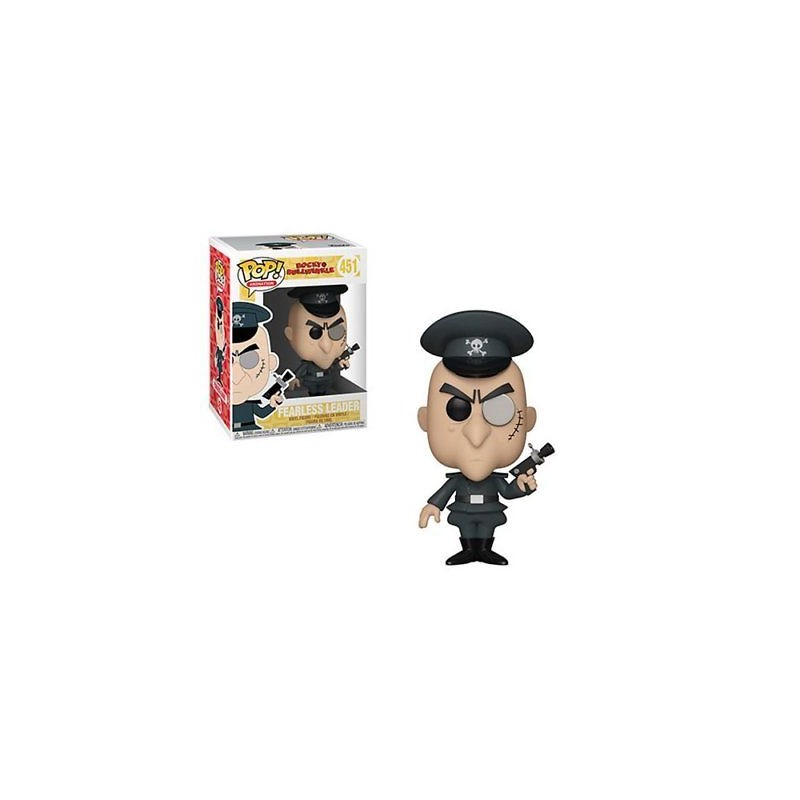 Pop animation - rocky & bullwinkle - fearless leader 451Outlet - scatola rovinata
