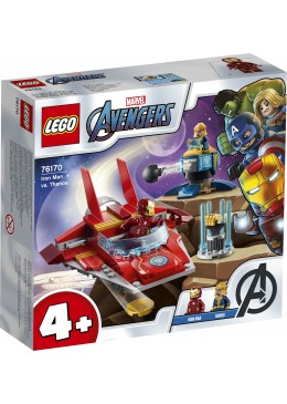 LEGO Marvel Super Heroes Iron Man contre Thanos - 76170