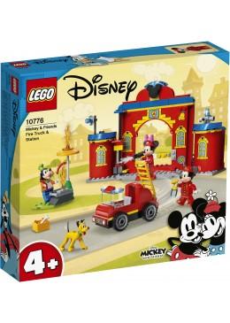 LEGO Disney Mickey & Friends brandweerkazerne & auto - 10776