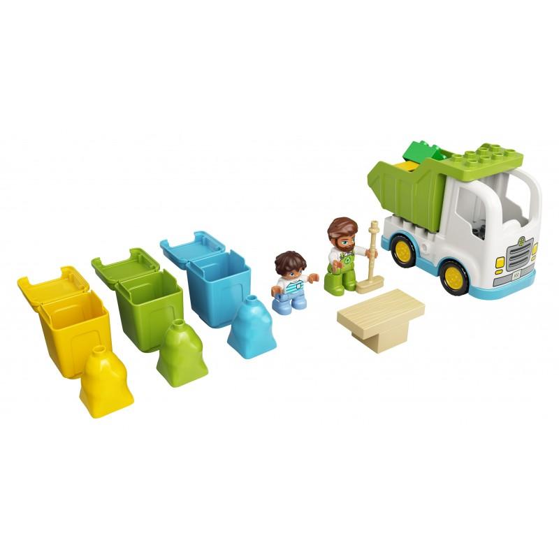 LEGO DUPLO Camion della spazzatura e riciclaggio - 10945