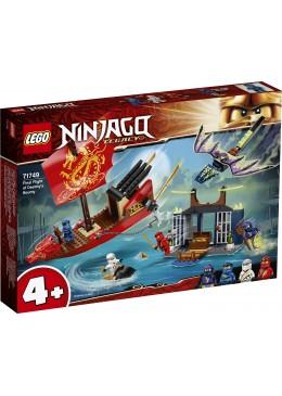 LEGO NINJAGO Laatste tocht van Destiny's Bounty - 71749