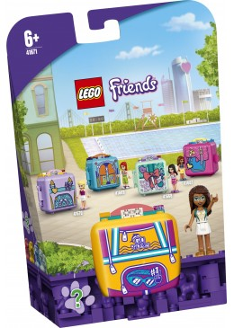 LEGO Friends Il cubo della piscina di Andrea - 41671