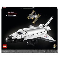 LEGO Creator Expert 10283 Transbordador Espacial Discovery de la NASA, Set para Adultos