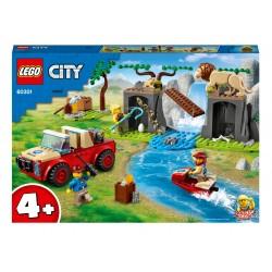 LEGO City Wildlife Rescue Off-roader Speelgoed 60301