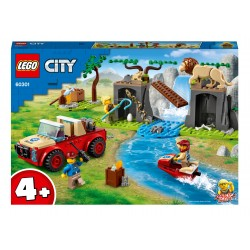 LEGO City Tierrettungs-Geländewagen - 60301