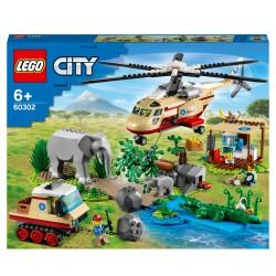 LEGO City Wildlife Rescue Operatie Dierenarts Set 60302