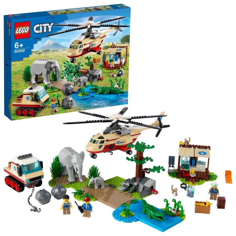 LEGO City Operazione di soccorso animale - 60302