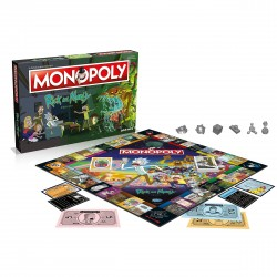 Monopoly Rick and Morty -...